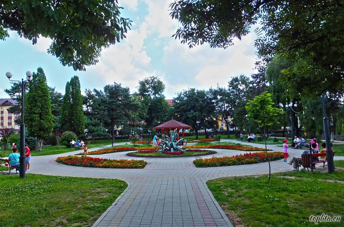 Központi park
