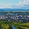 Toplita, view from Banffy