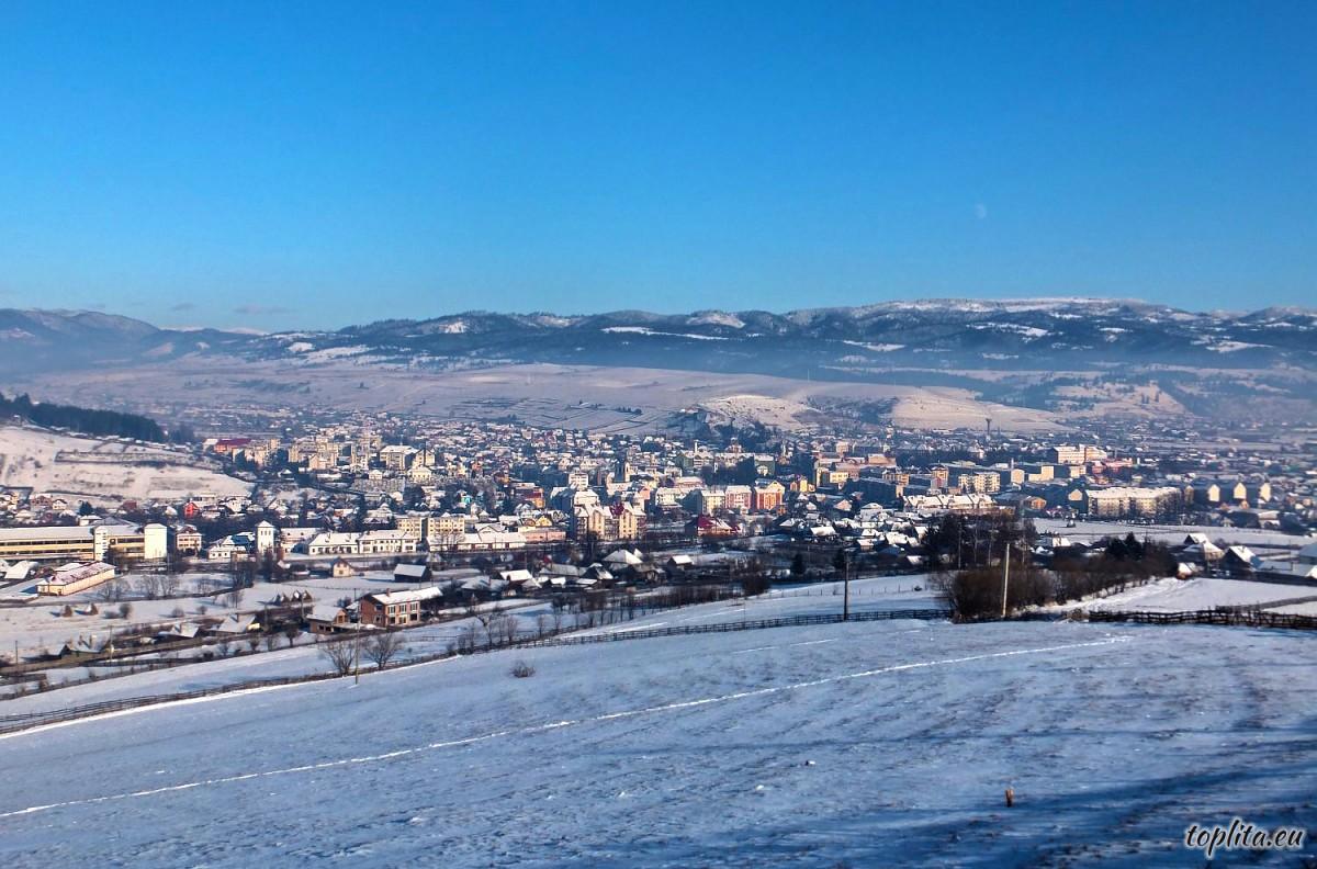 Toplita, general view
