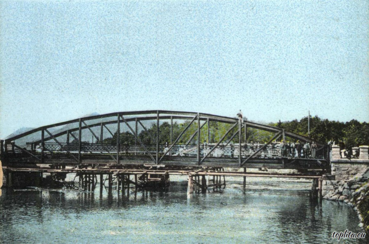 Bridge over the Mures River