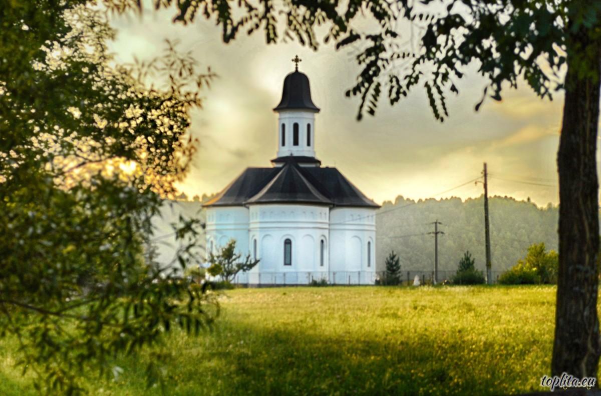 Szt. Arkangyalok templom, Gyergyóhodos