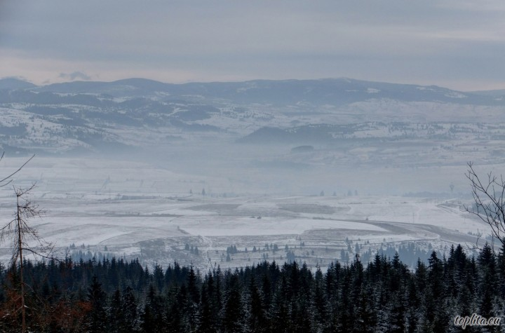 View from Tarnita Peak